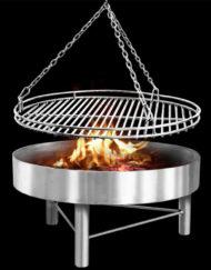 Grillrost mit Feuerstelle