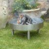 feuerstelle mit feuer