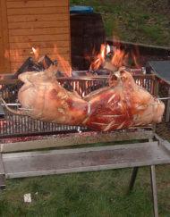 spanferkel grill